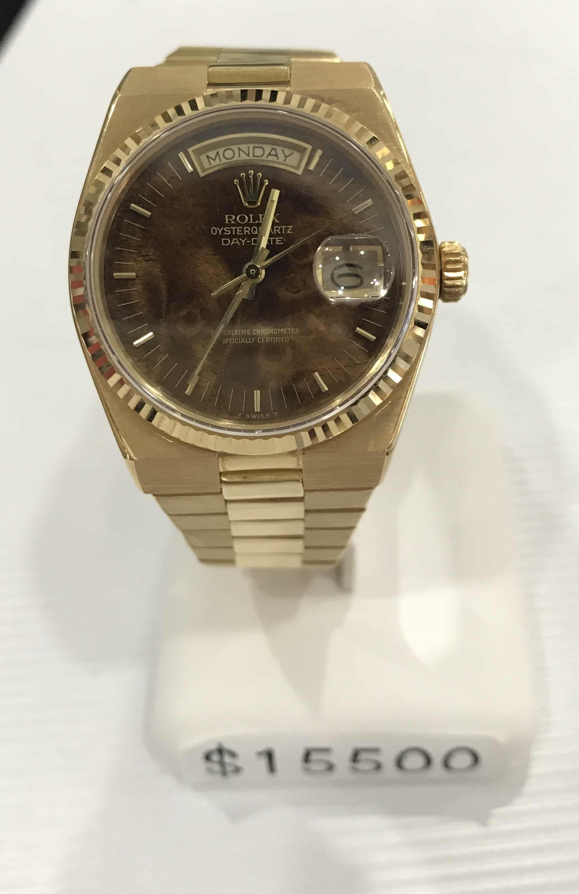 watches gold presidential jewelry men product bracelet s shipping today rolex free overstock pre mens owned watch yellow