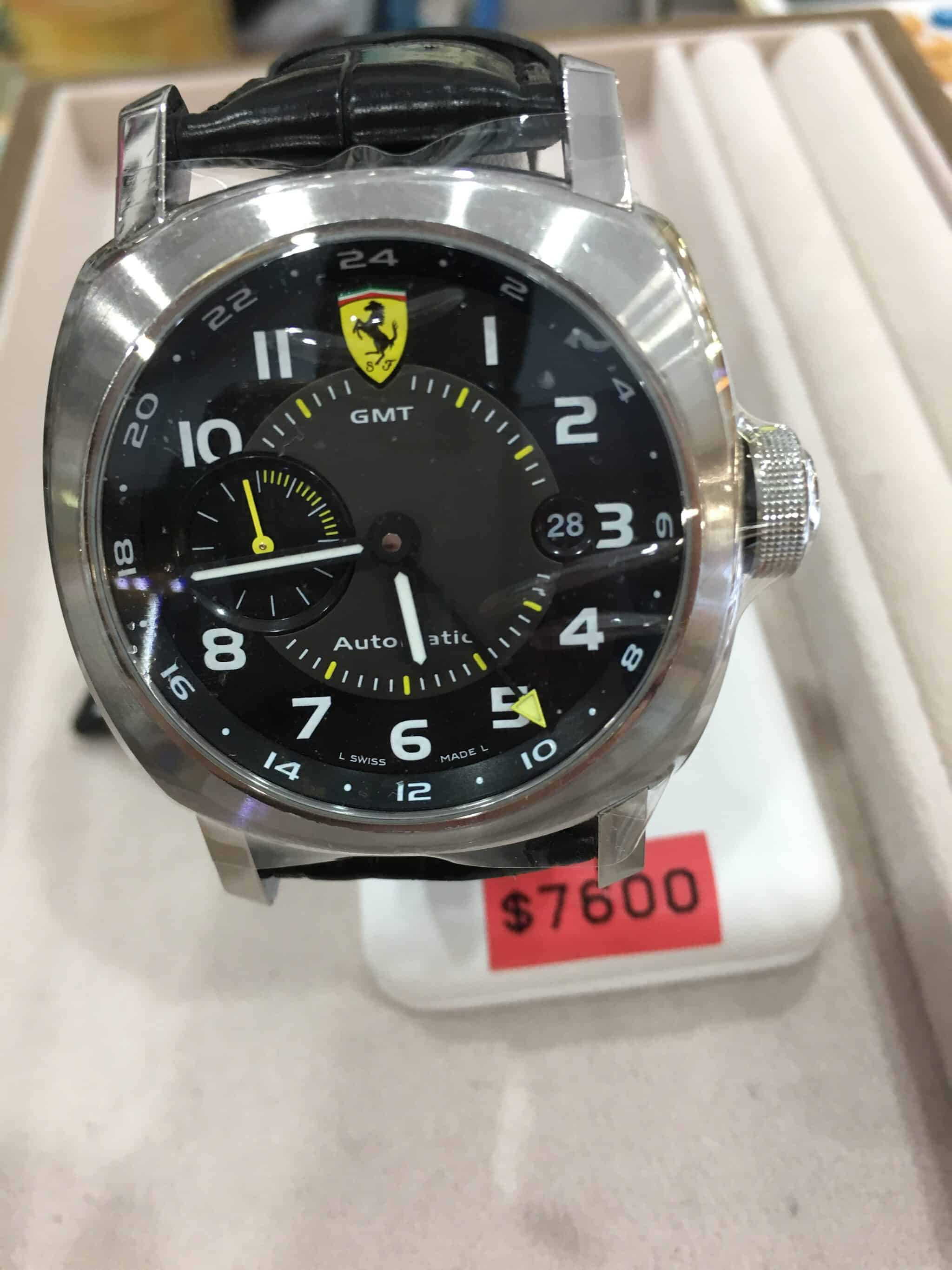 Panerai Ferrari Watch Buy And Sell Used Rolex Watches And Jewellery In Singapore