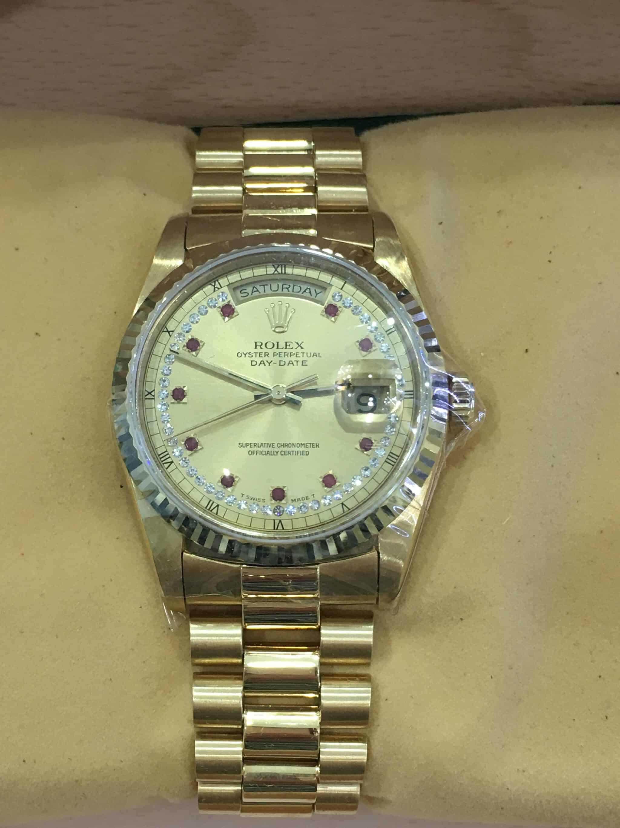 watch ct gold mens date watches rolex presidential yellow diamond day
