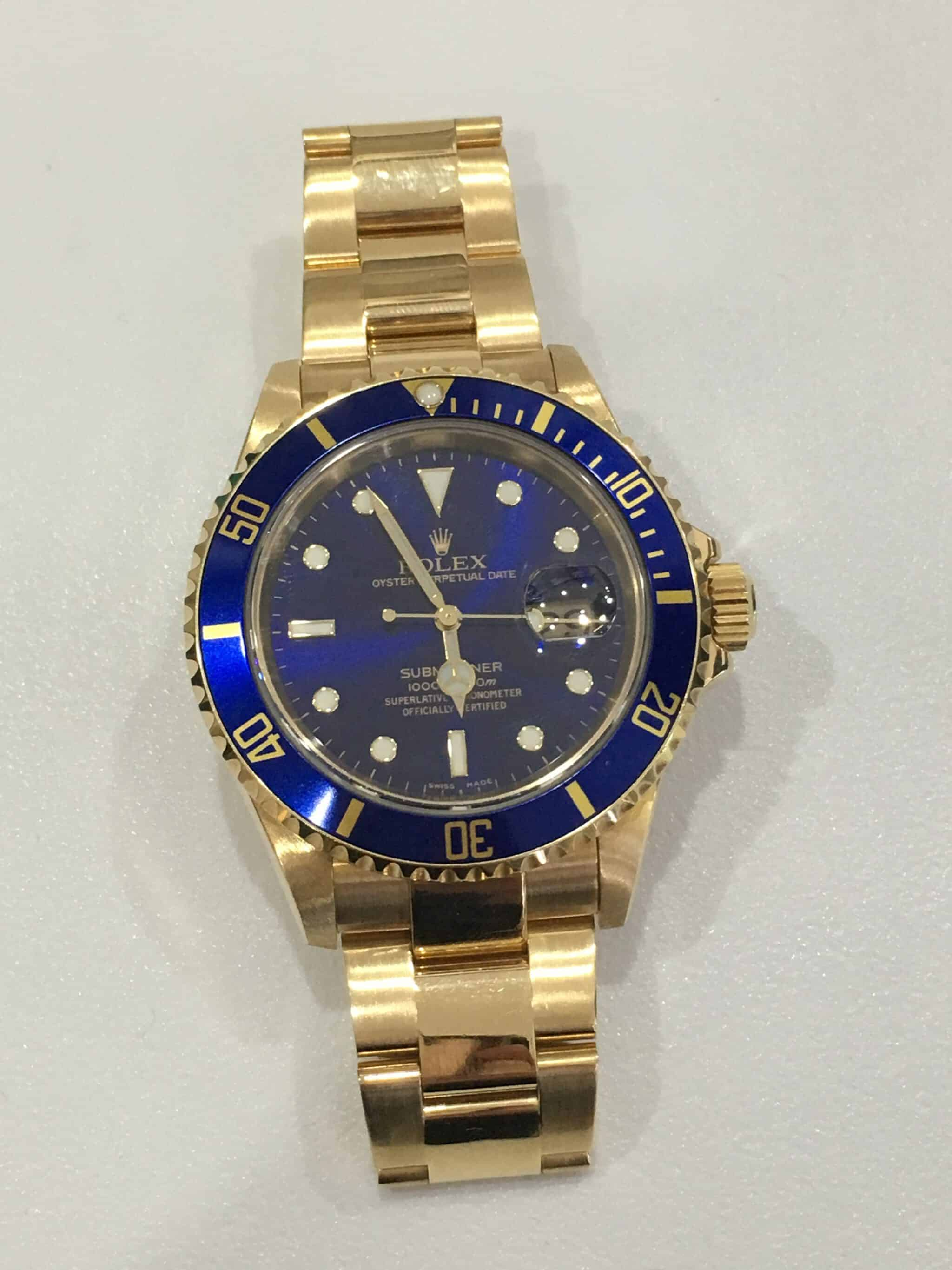 watch gmt rolex in custom watches pvd ii black used batman london master