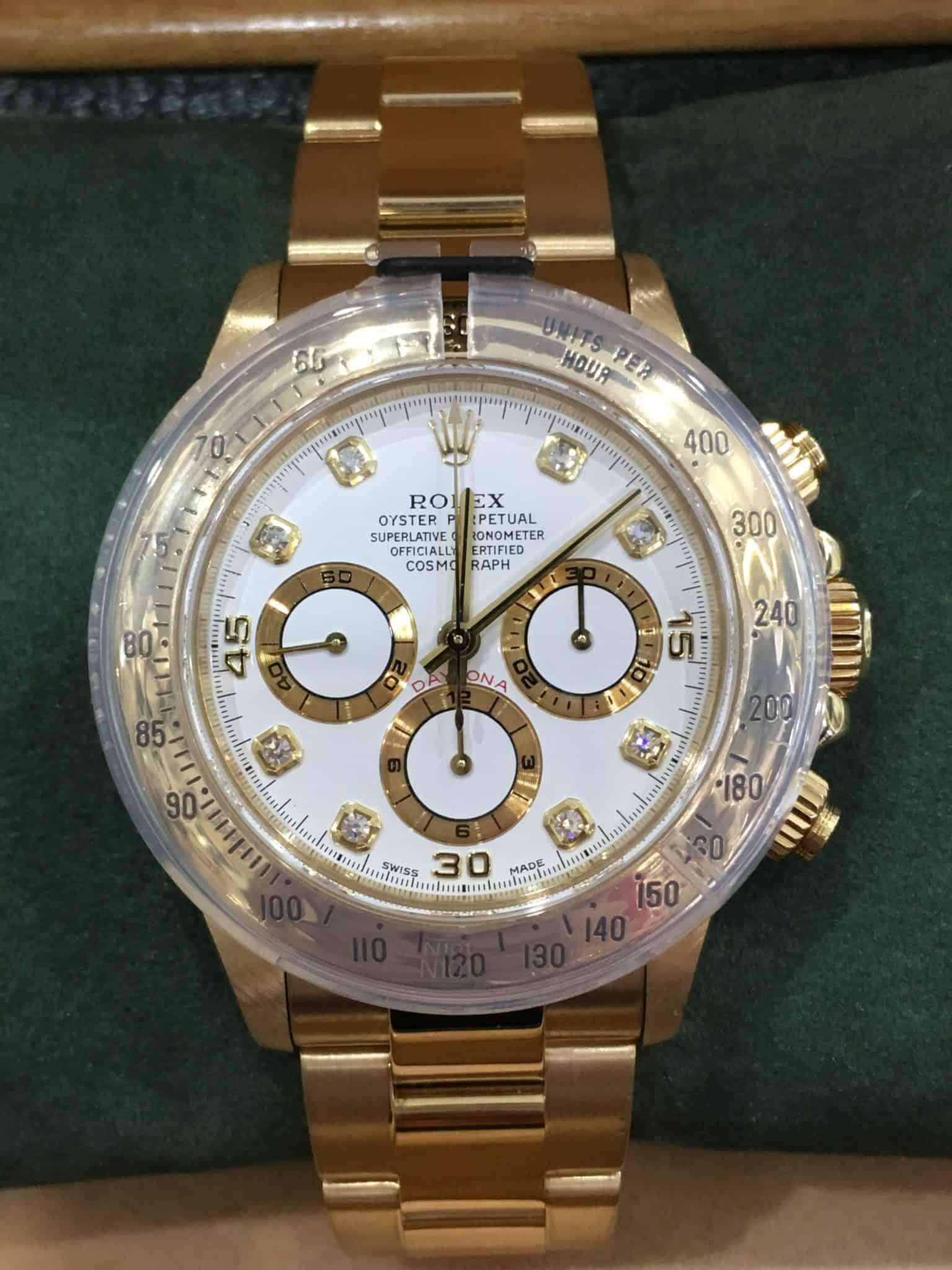 pretty nice 11596 7ed1d Rolex 16528 ZENITH MOVEMENT